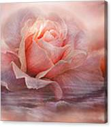 Time To Say Goodbye Rose Canvas Print