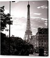 Timeless Eiffel Tower Canvas Print