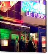 Times Square At Night - Le Funk Canvas Print