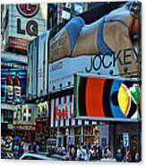 Times Square Energy Canvas Print