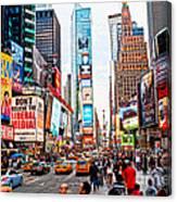 Times Square - New York City Canvas Print