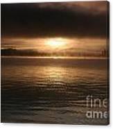 Timothy Lake Mysterious Sunrise 2 Canvas Print