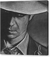 Timothy Olyphant 2 Canvas Print
