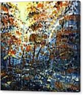 Tim's Autumn Trees Canvas Print