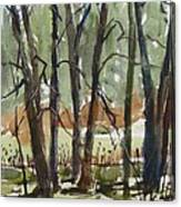 Tims Pond Canvas Print