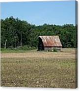 Tin Roofed Barn  Canvas Print