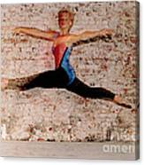 Shelly Ballet Jump Canvas Print