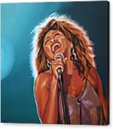Tina Turner 3 Canvas Print