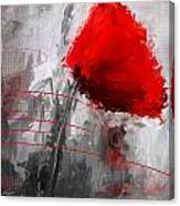 Tint Of Red Canvas Print