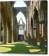 Tintern Abbey Nave Canvas Print
