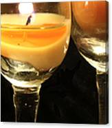Tiny Candle Canvas Print