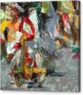 Tiny Tot Dancers Canvas Print