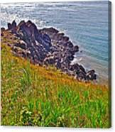 Tip Of Cape D'or-ns Canvas Print