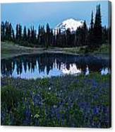 Tipsoo Reflection Tranquility Canvas Print