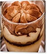 Tiramisu Dessert Canvas Print