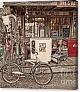 Tire And Battery Service Canvas Print