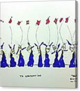 Tis Graduation Canvas Print