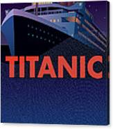 Titanic 100 Years Commemorative Canvas Print