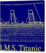 Titanic By Design Canvas Print