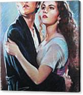 Titanic Jack And Rose Canvas Print