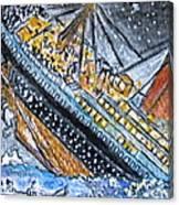 Titanic Canvas Print