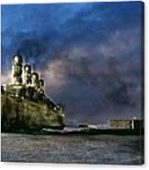 Titanic Late Arrival Canvas Print