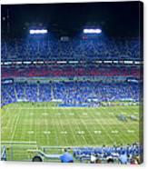 Titans Lp Field 9-3-2010 Canvas Print