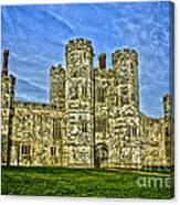 Titchfield Abbey Hdr Canvas Print