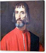 Titian's Andrea Dei Franceschi Canvas Print