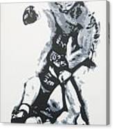 Tito On Ice Canvas Print