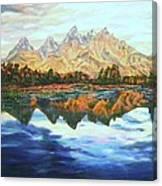 Titon Reflections Canvas Print