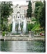 Tivoli Fountains Canvas Print