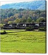 Tn Train Canvas Print