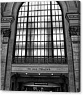 To All Trains Chicago Union Station Canvas Print