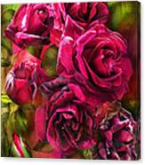 To Be Loved - Red Rose Canvas Print