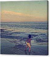 To Be Young Canvas Print