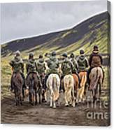 To Ride The Paths Of Legions Unknown Canvas Print