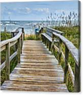To The Beach Canvas Print