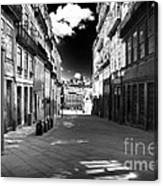 To The Light In Porto Canvas Print