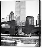 To The Towers 1990s Canvas Print