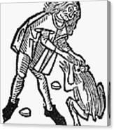 Toadstone, 1491 Canvas Print