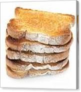Toast Stack Canvas Print