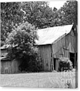 barn in Kentucky no 10 Canvas Print
