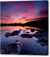 Tobermory Sunset 2 Canvas Print