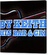 Toby Keith's Canvas Print