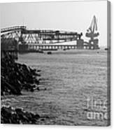 Port Of Tocopilla Chile Canvas Print