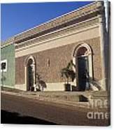 Todos Santos Buildings Mexico Canvas Print