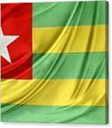 Togo Flag Canvas Print