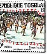 Togo Stamp Canvas Print