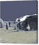 Tohono O'odham Dwelling Circa 1885-2013 Canvas Print